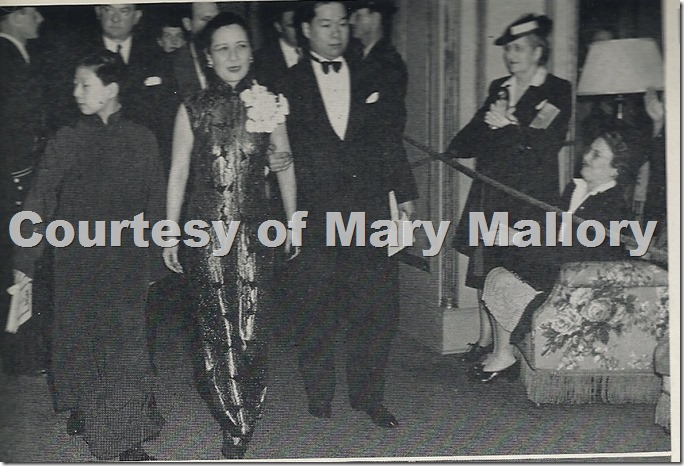Madame Chiang Visit