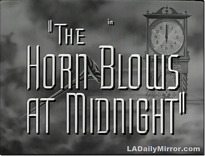 Dec. 28, 2019, The Horn Blows at Midnight