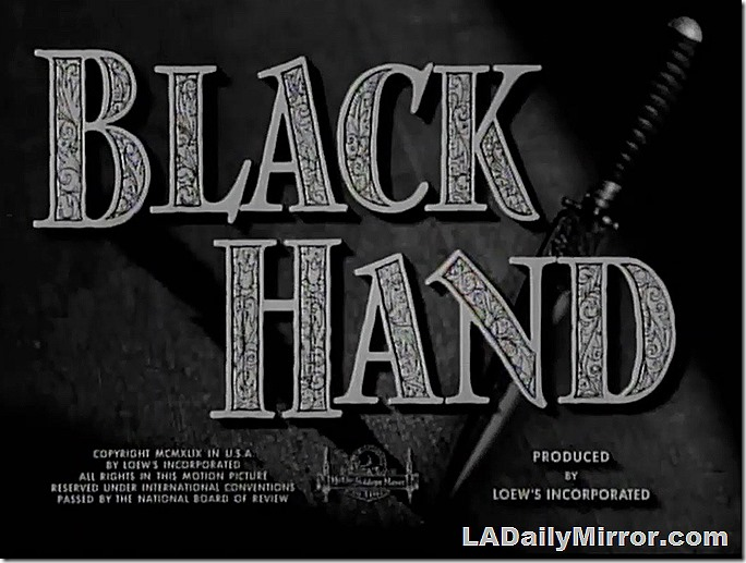 Jan. 11, 2020, Black Hand