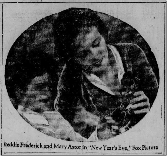 Mary Astor, Messenger Inquirer, Oct. 13, 1929