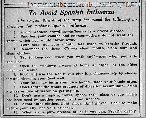 Los Angeles Herald, 1918