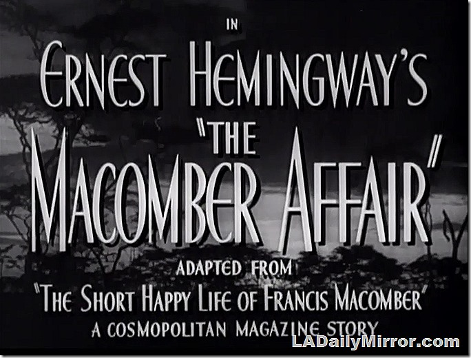 June 13, 2020, Macomber Affair