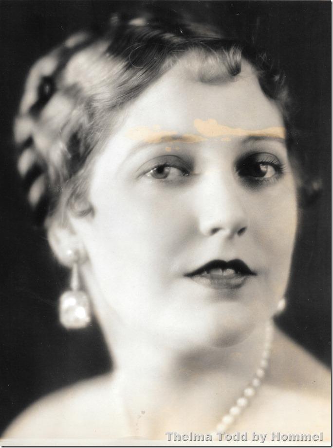 Thelma Todd Portrait Hommel