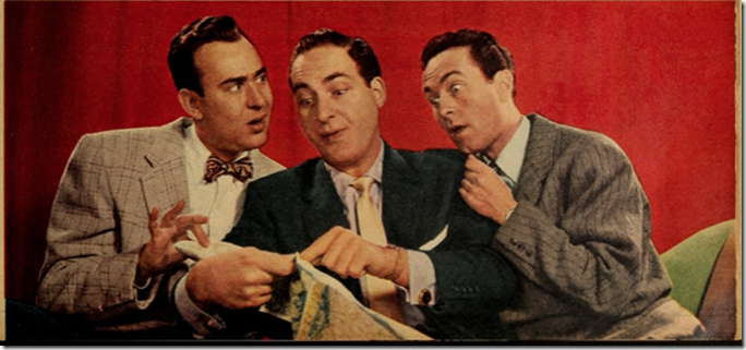 Reiner, Caesar, Morris TV Radio Mirror 1955
