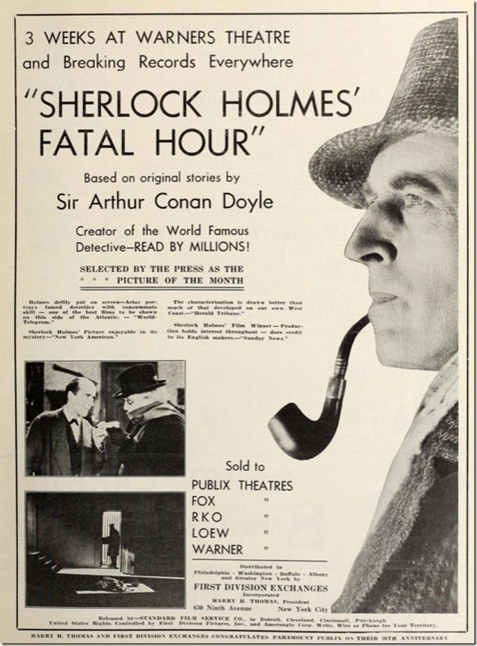 Sherlock Holmes Fatal Hour