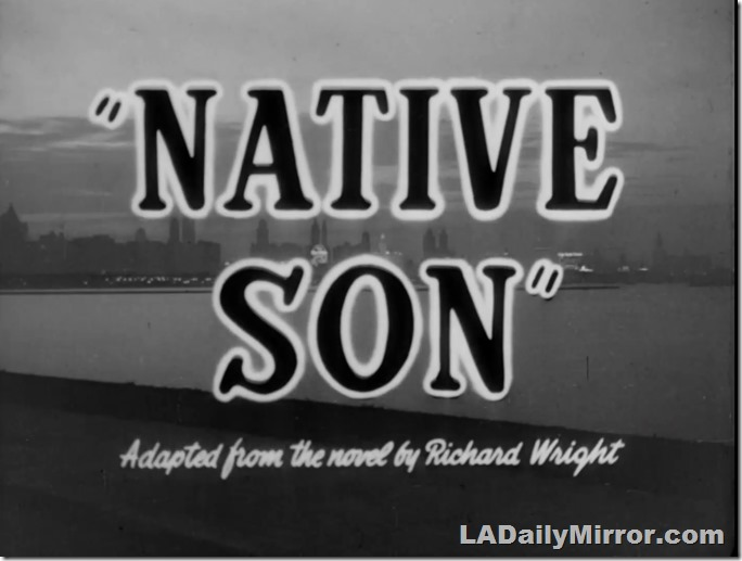 Oct. 25, 2020, Native Son