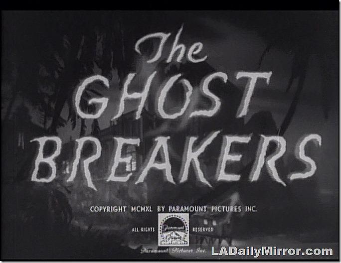 Oct. 31, 2020, Ghost Breakers