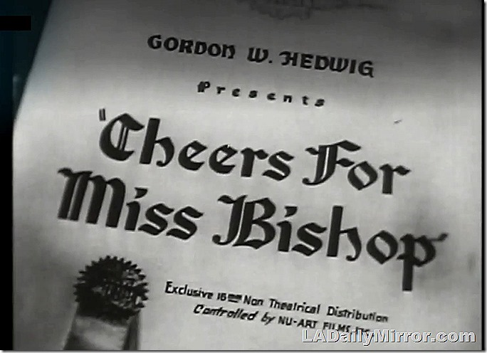 Jan. 16, 2021, Cheers for Miss Bishop Main Title