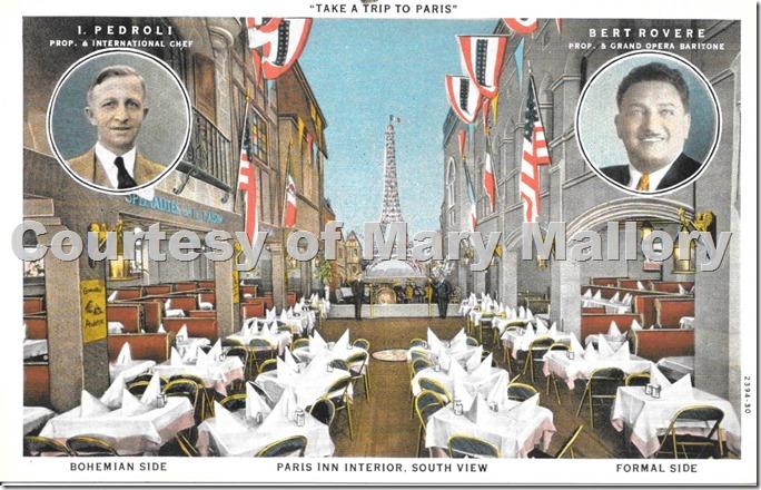 Paris Inn Postcard