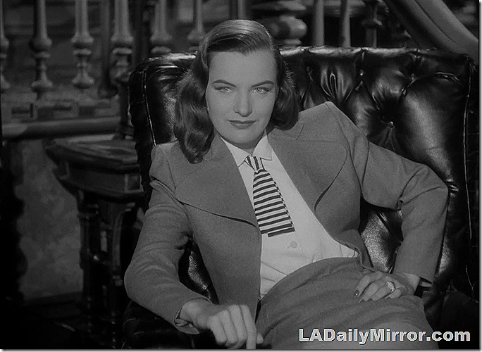 Feb. 5, 2021, Mystery Photo  This is Ella Raines and how about that tie?