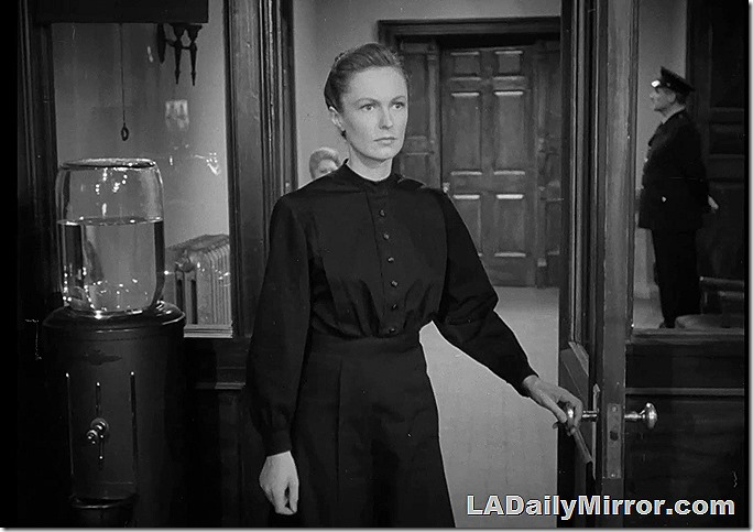 Feb. 5, 2021, Mystery Photo This is Geraldine Fitzgerald in what is supposed to be prison garb.