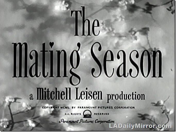 Feb. 20, 2021, The Matin Season, a Mitchell Leisen production, 1950 Paramount