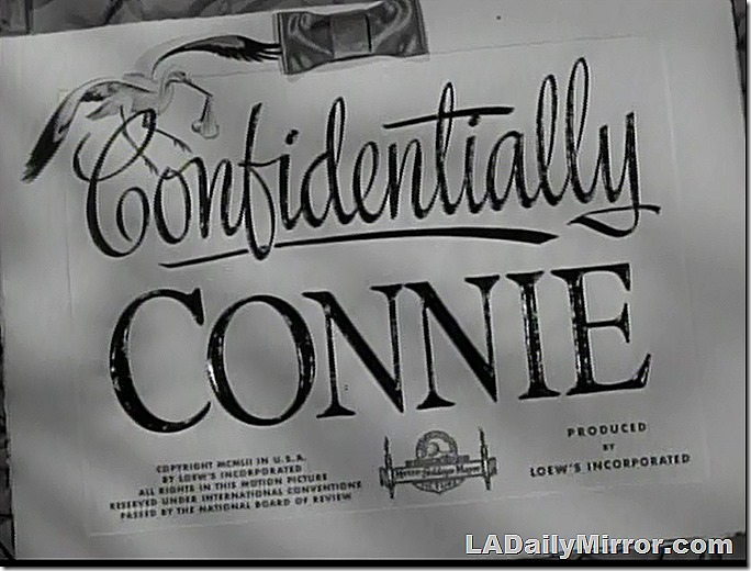 Feb. 27, 2021, Title Card for Confidentially Connie