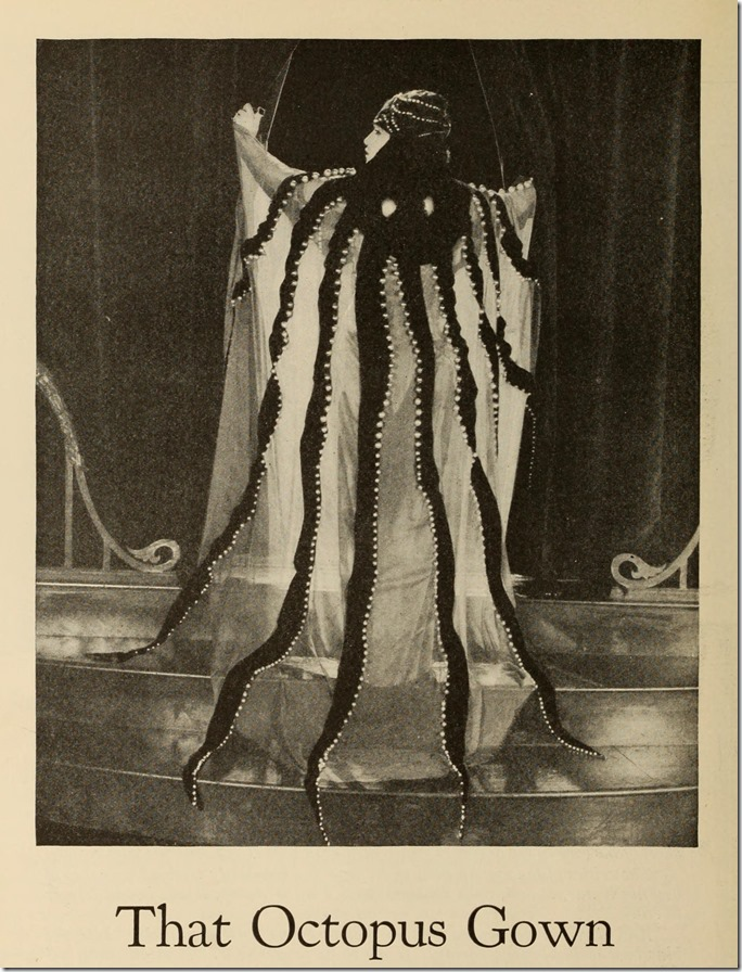 Clare West's Octopus Gown