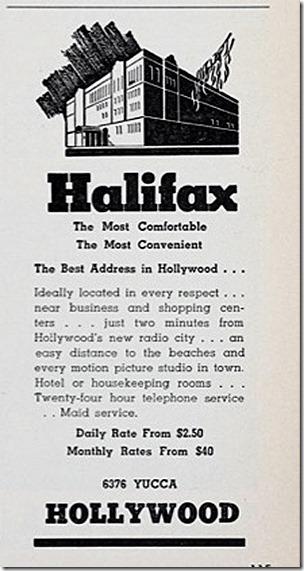 Halifax Ad Boxoffice 1939