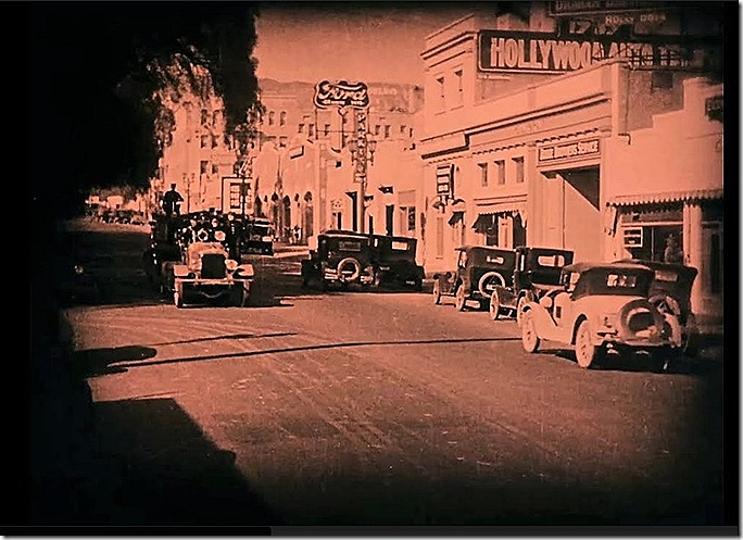 Holly sign Fast and Furious Reg. Denny Univ. 1927