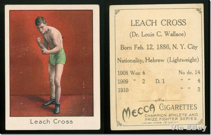 Leach Cross Cigarette Cards