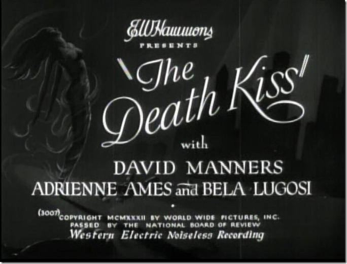 Main Title the Death Kiss