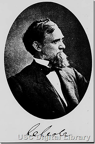 Cornelius Cole from the USC digital library