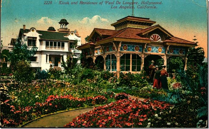 Postcard of Paul De Longpre, Hollywood