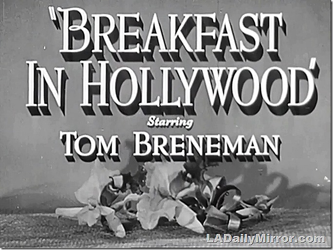 July 31, 2021, Breakfast in Hollywood, Main Title