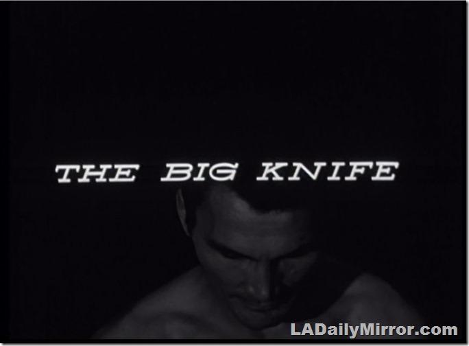 The Big Knife, Main Title