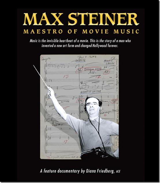 Max Steiner conducting