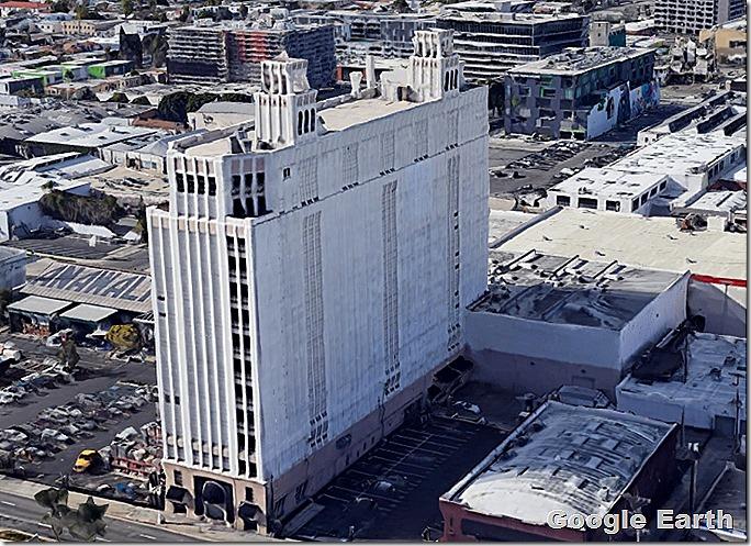 Hollywood Storage, Courtesy Google Earth