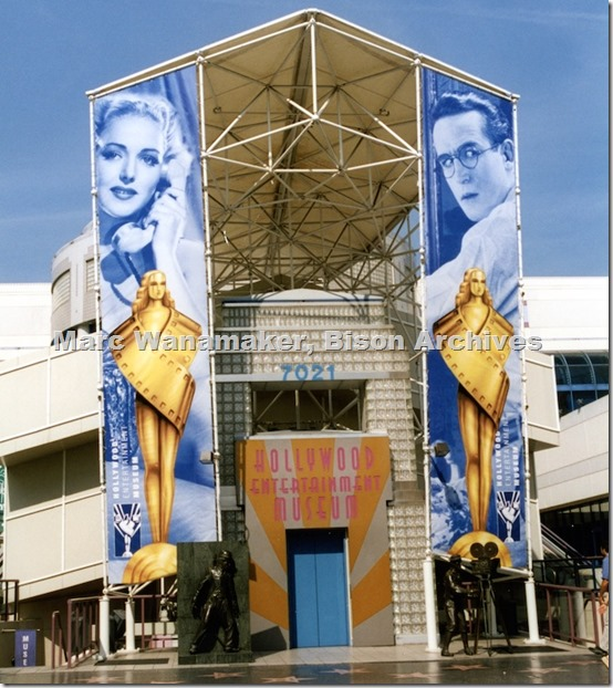 Hollywood Entertainment Museum 2003