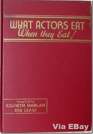 What Actors Eat When They Eat