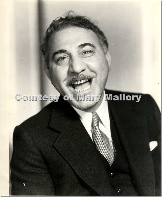 Henry Armetta, courtesy of Mary Mallor